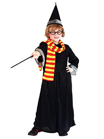 stylesilove Kid Boys Wizard Magician Halloween Costume Cosplay Outfit Themed Event Birthday Party Clothing