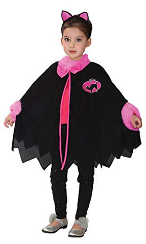 stylesilove Adorable Girls Halloween Little Cat Batgirl Costume Themed Party Cosplay Outfit