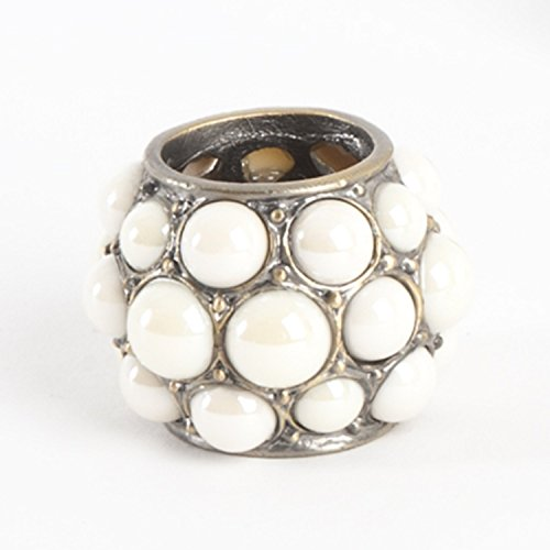 Fennco Styles Luxury Pearl Design Napkin Ring - 2 Colors - Set of 4
