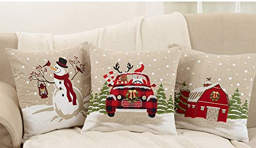 Fennco Styles Classic Holiday and Plaid Festive Design Home Decor Christmas Table Linen Collection