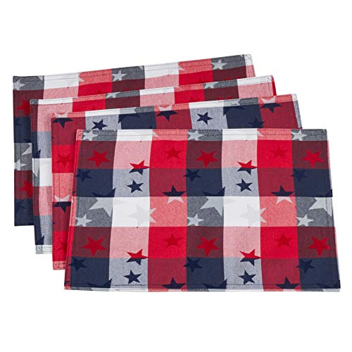Checkered Stardom Collection Traditional Plaid Table Linens