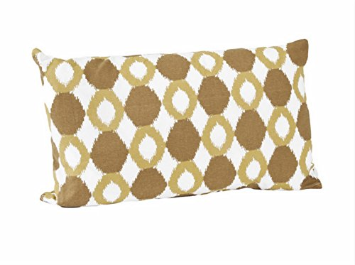 Fennco Styles Ikat Cotton Down Filled Decorative Throw Pillow