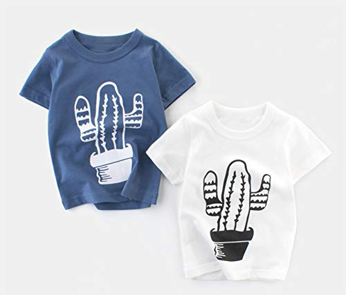Styles I Love Little Boys Short Sleeve Cactus Graphic T-Shirt