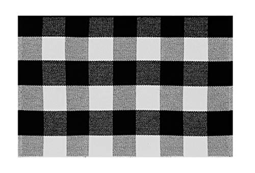 Fennco Styles Contemporary Buffalo Plaid Area Rug 24 x 35 Inch Small Rug for Living Room, Kids Room, Bedroom Décor