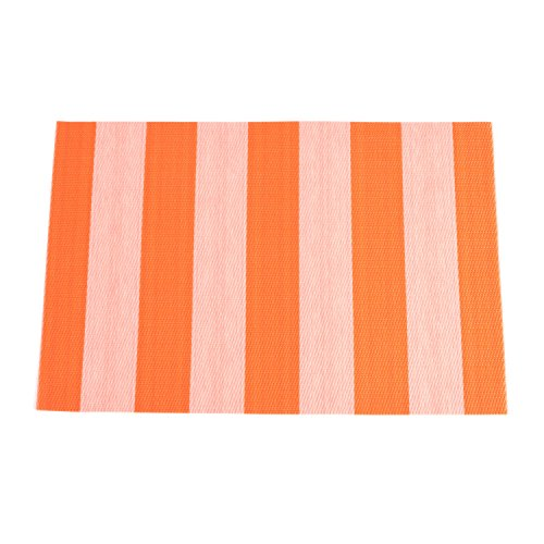 Fennco Avila Striped Pattern Traycloth Placemat, Set of 4