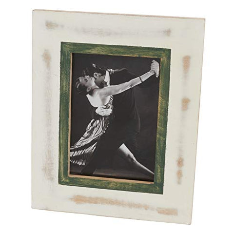 Fennco Styles Tabletop Decorative Wooden Photo Frame with Distressed Design