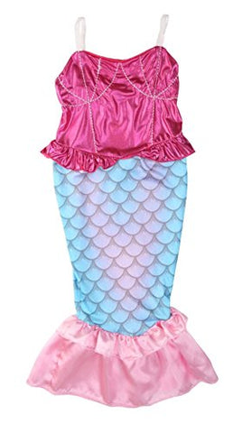 StylesILove Kids Girl's Princess Mermaid Dress Halloween Party Costume