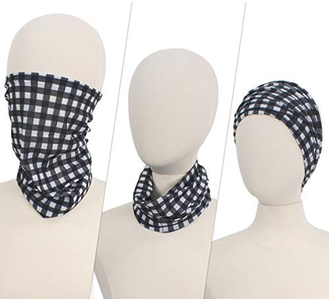 StylesILove Unisex Neck Gaiter Breathable Face Cover Bandana Headband Multipurpose for Dust Outdoors, Sports, Running, Hiking