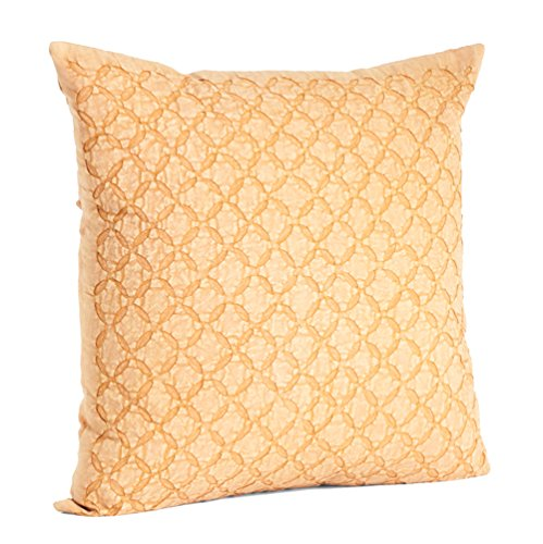 fenncostyles.com Appliqué Sheeting Nirali Down Filled Throw Pillow