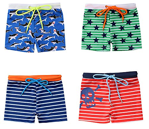 Styles I Love Baby Toddler Boys Printed Swim Shorts Bathing Suit Beach Pool Boy Swim Trunks