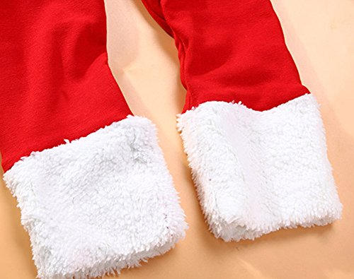 stylesilove Newborn Infant Toddler Kids Baby Boy Holiday Christmas Santa Tops and Pants 2-PC Costume Outfit