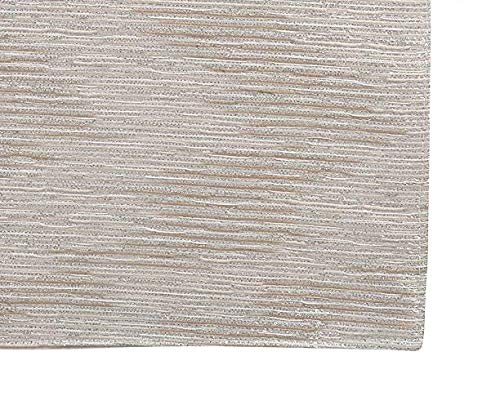 Fennco Styles Evelina Collection Contemporary Metallic Fused 14 x 72 Inch Table Runner