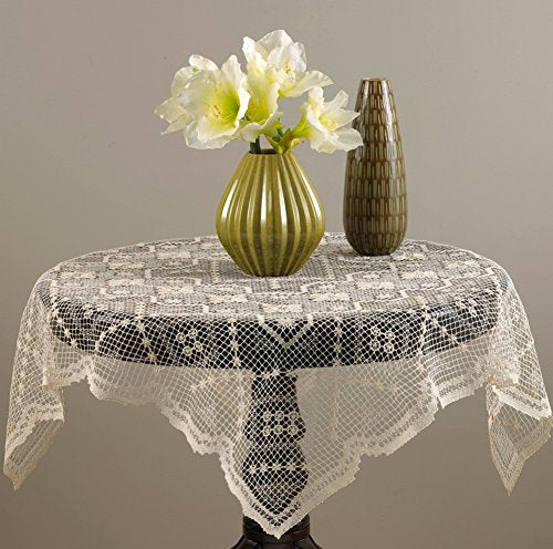 Handmade All-over Tuscany Lace Tablecloth