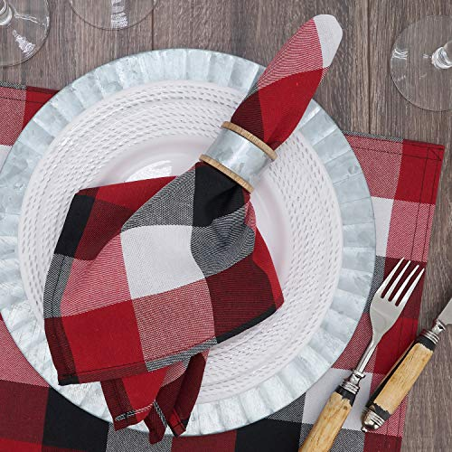 Fennco Styles Classic Buffalo Plaid Cotton Blend Tablecloth