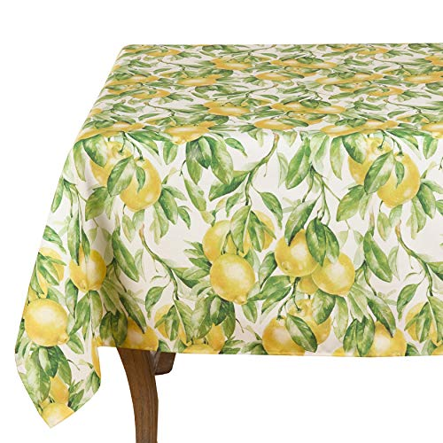 Fennco Styles Lemon Printed Design Table Linen