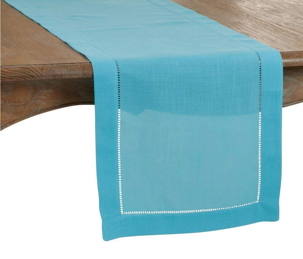 Fennco Styles Classic Hemstitch Design Table Linen Collection