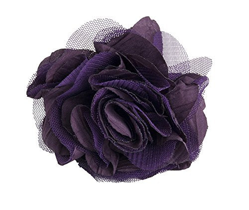 Fennco Styles Fun and Unique 3-inch Flower Napkin Ring, Set of 4