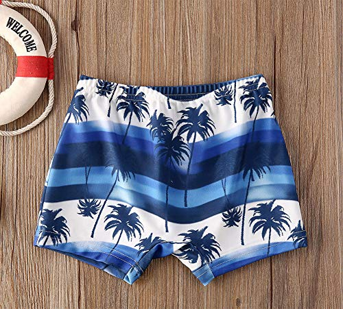 Styles I Love Baby Toddler Boys Tropical Print Swim Shorts Bathing Suit Beach Pool Boy Swim Trunks
