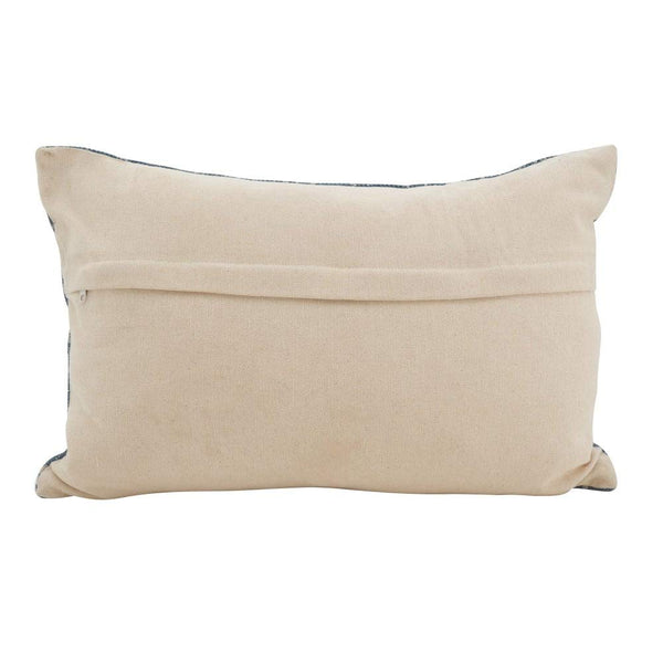 "Distressed Bohemian 16"" W x 24"" L Oblong Cotton Down Filled Decorative Throw Pillow"