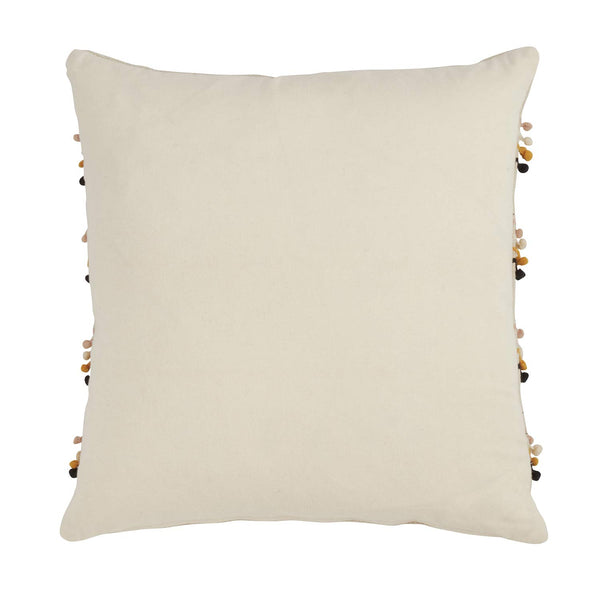 Fennco Styles Aiko Collection Bohemian Varity Design 100% Pure Cotton Throw Pillow with Case & Insert