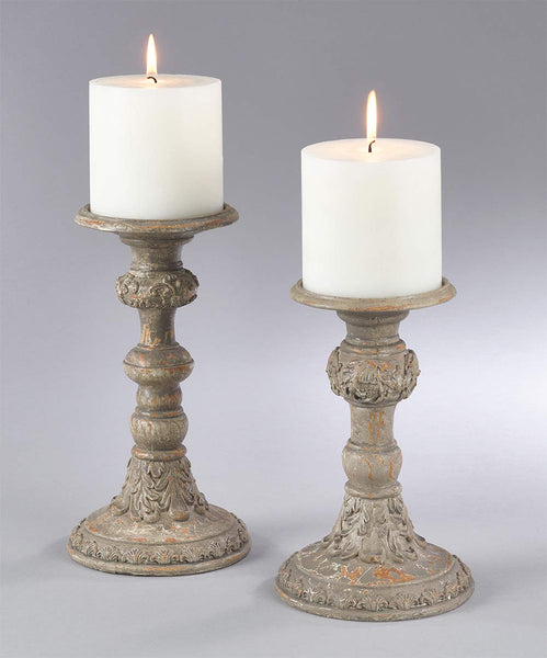 Antique Accent Piece Candle Holder
