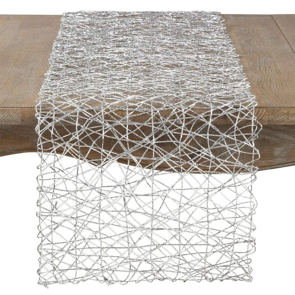 Fennco Styles Unique Wire Nest Design Runner 16 x 72 Inch
