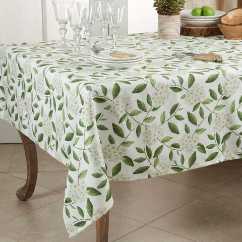 Fennco Styles Floral Design Table Linen Collection