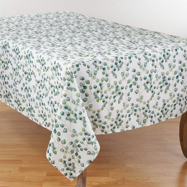 Fennco Styles Eucalipto Collection Eucalytpus Leaf Table Linens
