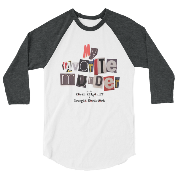 My Favorite Murder Official Logo - Unisex Baseball Tee