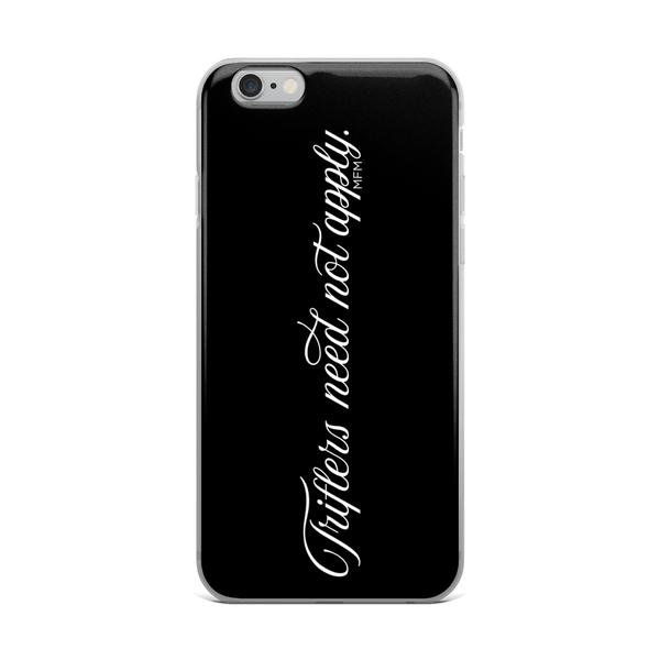 Triflers iPhone Case