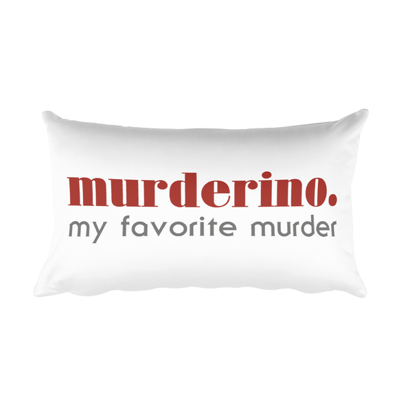 Murderino - Rectangular Pillow
