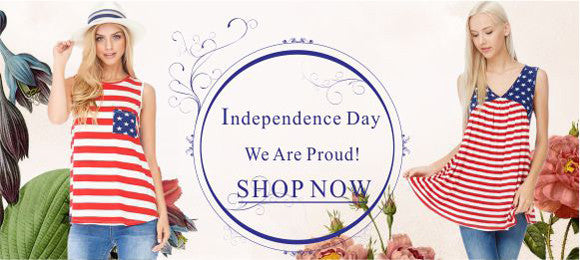 American Flag Print Clothing Sale
