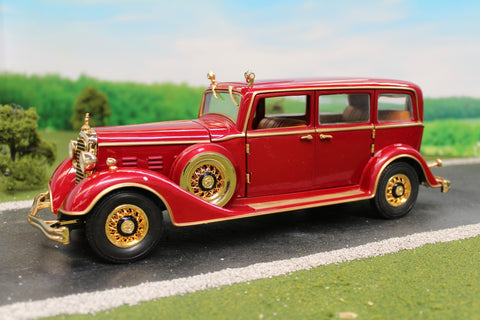 1932 Deluxe Tudor- The state limousine of Puyi, the last Emperor of China