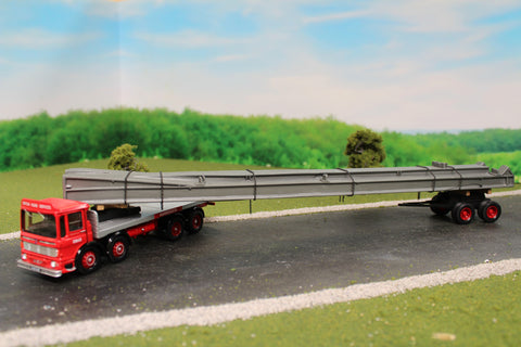 AEC Ergo 8 Wheel Platform Lorry, Dolly & Girder Load BRS