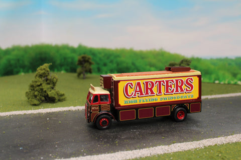 ERF V 4 Wheel Box Lorry Carters High Flying Swingboats