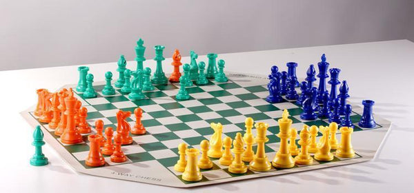 3 & 4 Player Chess Sets