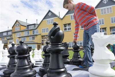 Giant Chess for Schools