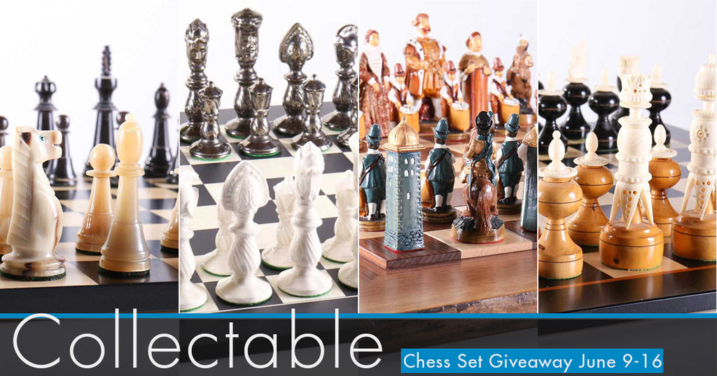 Collectable Chess Set Giveaway Contest