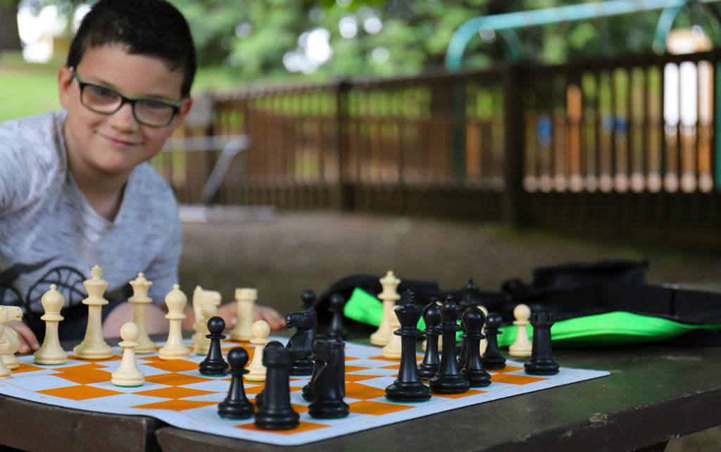 Weekend to Remember - Playing Chess at the Park
