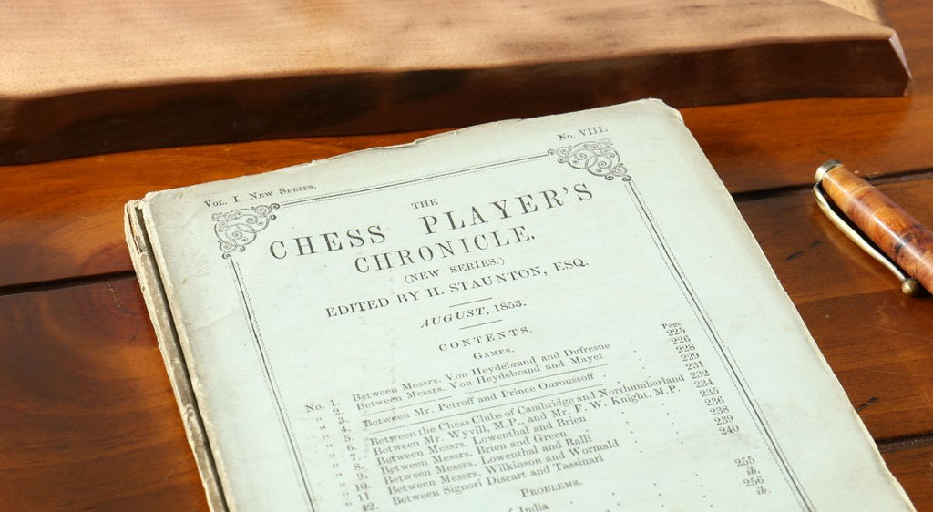 Howard Staunton Chess Players Chronicle