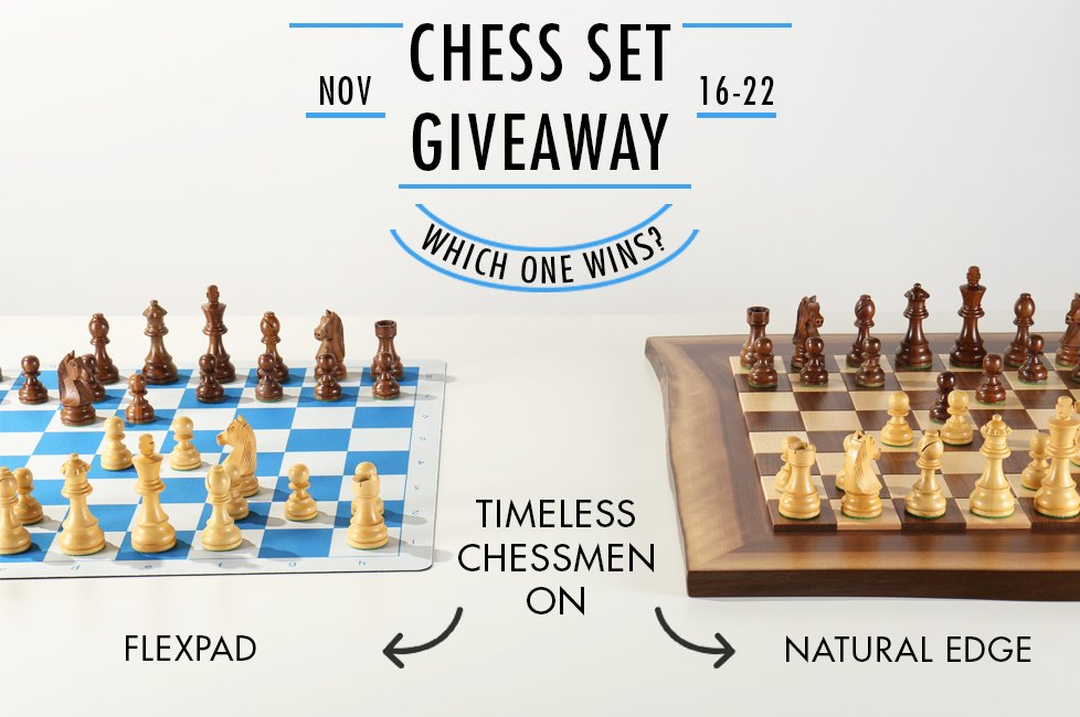 Chess Set Giveaway - Share this on Pinterest