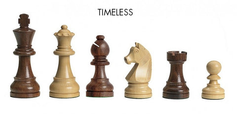Timeless DGT chess pieces