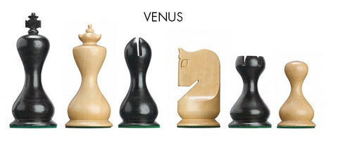 Venus DGT chess pieces