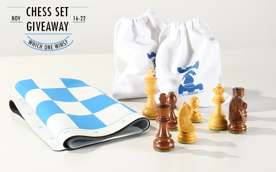 Chess Set Giveaway Bags