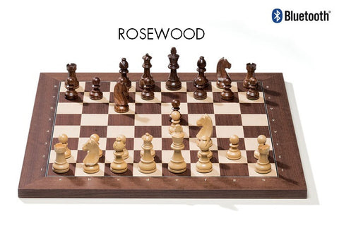 Rosewood DGT + Bluetooth Electronic Chess Board
