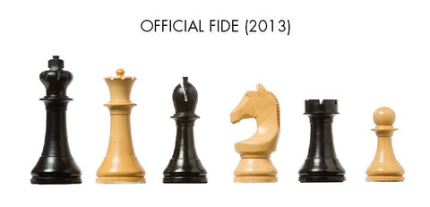 Official FIDE (2013) DGT chess pieces