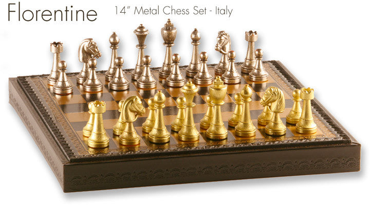 Metal Chess Sets – Chess House