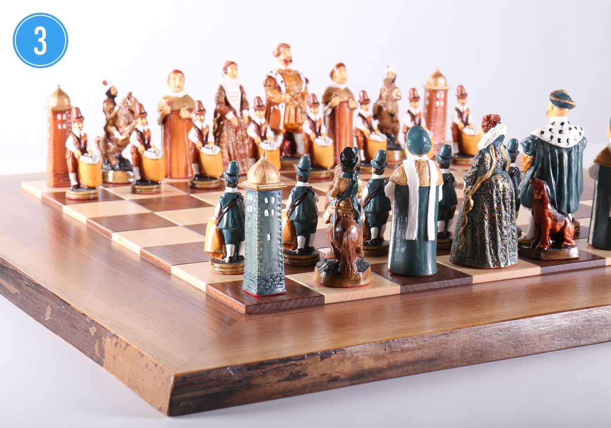 Warren Chess Set 3