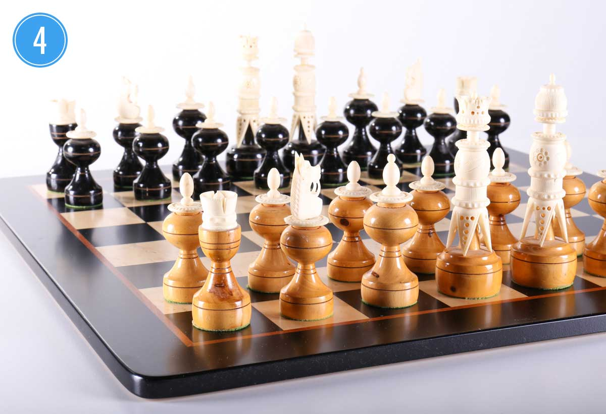 Warren Chess Set 4