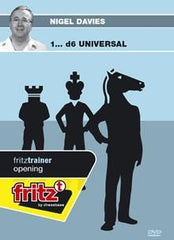 1...d6 Universal - Davies - Software DVD - Chess-House